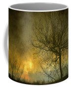 The Light Escapes Through The Clouds Coffee Mug by Guido Montanes Castillo