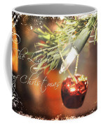 The Light Of Christmas Coffee Mug