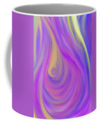The Light Of The Feminine Ray Coffee Mug by Daina White