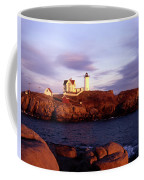 The Light On The Nubble Coffee Mug by Skip Willits