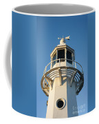 The Lighthouse At Mevagissy Coffee Mug