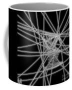 The Lines Of Martha Graham L Bw Coffee Mug