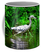 The Little Blue Heron Coffee Mug