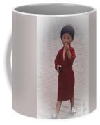 The Little Boy In The Red Silk Dress Coffee Mug