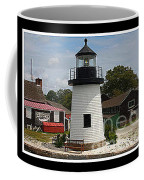 The Little Lighthouse At Mystic Coffee Mug