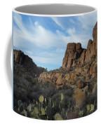 The Living Desert Of Arizona Coffee Mug