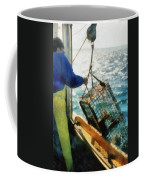 The Lobsterman Coffee Mug by Michelle Calkins