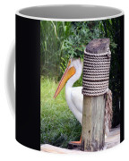 The Lone Pelican Coffee Mug
