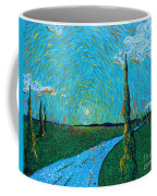 The Long Blue Road Coffee Mug