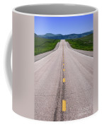 The Long Road Ahead Coffee Mug