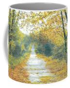 The Long Road Home - Oil Coffee Mug