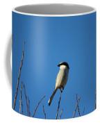 The Predator Lookout Shrike Bird Art Coffee Mug