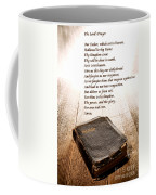 The Lord's Prayer And Bible Coffee Mug by Olivier Le Queinec