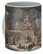 The Lottery, Illustration From Hogarth Coffee Mug