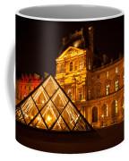 The Louvre At Night Coffee Mug