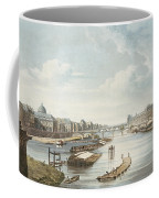 The Louvre, From Views On The Seine Coffee Mug