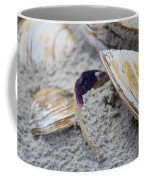 Shells In The Sand Coffee Mug