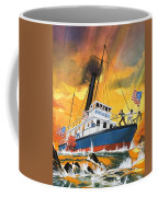 The 'madmen' Of The Mississippi Coffee Mug by English School