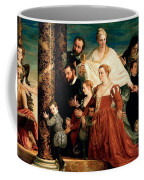 The Madonna Of The Cuccina Family Coffee Mug