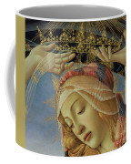 The Madonna Of The Magnificat Coffee Mug by Sandro Botticelli