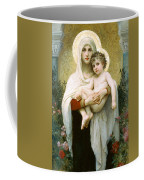 The Madonna Of The Roses Coffee Mug