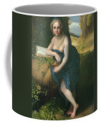 The Magdalene, C.1518-19 Oil On Canvas Coffee Mug