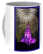 The Kingdom World Castle Fl Fireworks Disney Magic Walt In With Metal Print Violet xoeWCdrB