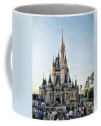 The Magic Kingdom Castle On A Beautiful Summer Day Coffee Mug