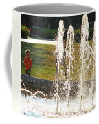 The Magical World Of A Boy With His Father Coffee Mug