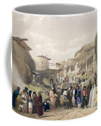 The Main Street In The Bazaar Coffee Mug