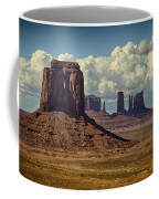 The Majesty Of Monument Valley  Coffee Mug