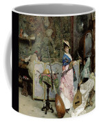 The Mandolin Shop Coffee Mug by Vincenzo Capobianchi