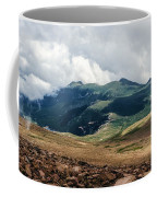 The Manitou And Pikes Peak Railway Cog Descends Coffee Mug