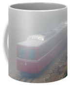 The Manitou And Pikes Peak Railway Cog In Fog Coffee Mug
