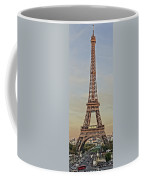 The Many Faces Of The Eiffel Tower In Paris France Coffee Mug