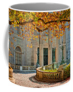 The Marble House In Autumn Coffee Mug