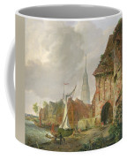 The March Gate In Buxtehude Coffee Mug by Adolph Kiste