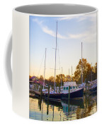 The Marina At St Michael's Maryland Coffee Mug by Bill Cannon