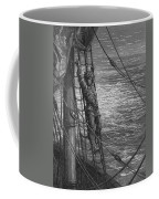 The Mariner Describes To His Listener The Wedding Guest His Feelings Of Loneliness And Desolation  Coffee Mug