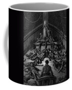 The Mariner Gazes On His Dead Companions And Laments The Curse Of His Survival While All His Fellow  Coffee Mug by Gustave Dore