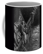 The Mariner Gazes On The Serpents In The Ocean Coffee Mug by Gustave Dore