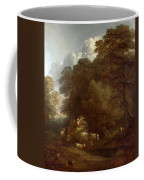 The Market Cart Coffee Mug