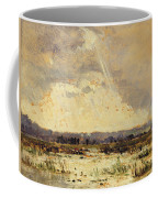 The Marsh In The Souterraine, 1842 Coffee Mug by Theodore Rousseau