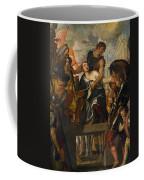 The Martyrdom Of Saint Mena Coffee Mug