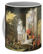 The Martyrdom Of St. Catherine, 17th Coffee Mug