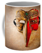 The Mask On The Floor Coffee Mug