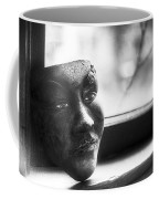 The Mask Coffee Mug by Scott Norris