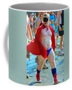 The Masked Super Hero Racer  Coffee Mug