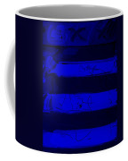 The Max Face In Blue Coffee Mug