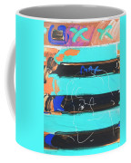 The Max Face In Inverted Colors Coffee Mug